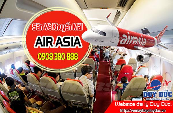 Book ngay vé khuyến mãi Air Asia 19 USD
