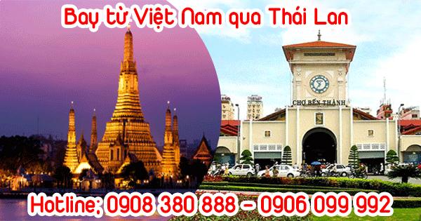 Bay từ Việt Nam qua Thái Lan mất bao lâu?