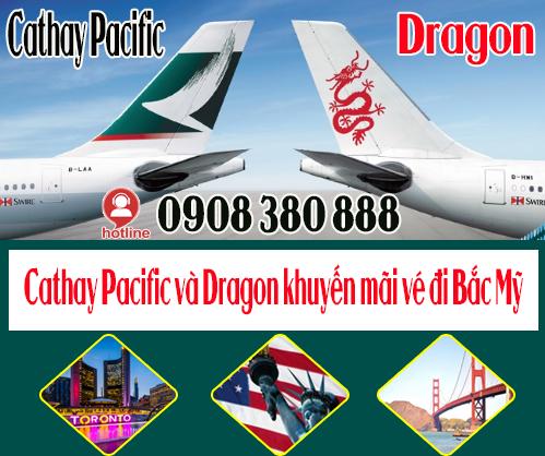 Cathay Pacific và Dragon triển khai khuyến mãi đi Bắc Mỹ