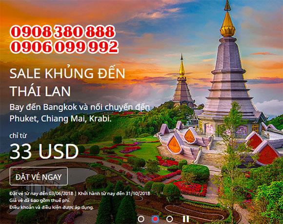 Săn ngay tấm vé AirAsia giá rẻ đi Châu Á 31 USD