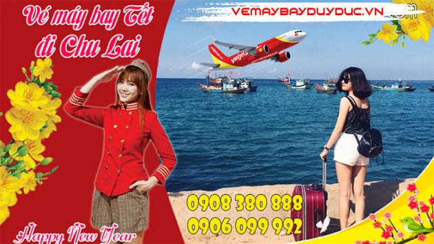 Đại lý bán vé máy bay Tết Nguyên Đán đi Chu Lai giá rẻ