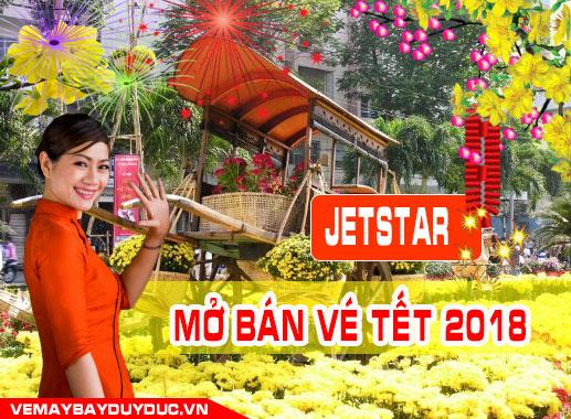 Jetstar đã mở bán vé Tết 2019