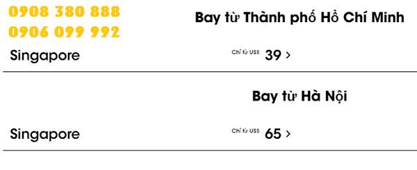 Scoot tung vé máy bay rẻ đi Singapore giá 39 USD