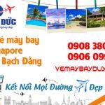 Mua vé máy bay đi Singapore đường Bạch Đằng
