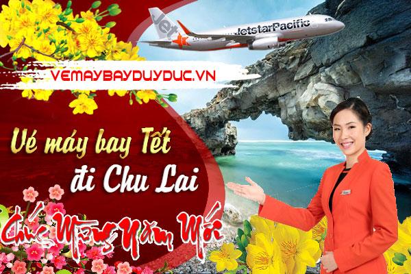 Vé máy bay tết đi Chu Lai hãng Jetstar Pacific