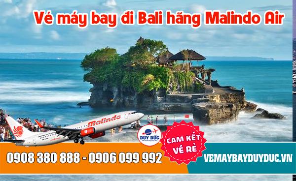 Vé máy bay đi Bali hãng Malindo Air