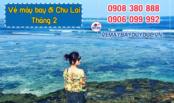 Vé máy bay đi Chu Lai tháng 2 Vietnam Airlines
