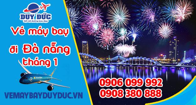 Vé máy bay đi Đà Nẵng tháng 1 Vietnam Airlines