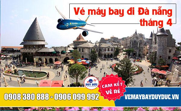 Vé máy bay đi Đà Nẵng tháng 4 Vietnam Airlines