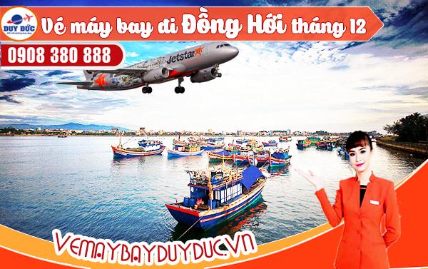 Vé máy bay đi Đồng Hới tháng 12 Jetstar