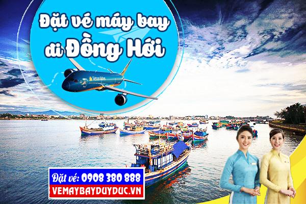 Vé máy bay đi Đồng Hới tháng 9 Vietnam Airlines