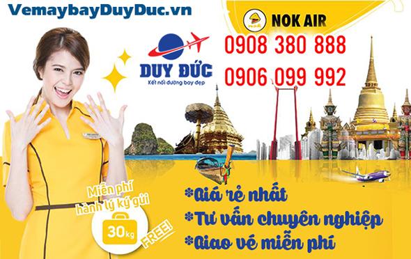 Vé máy bay đi Krabi hãng Nok Air