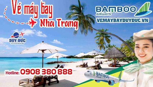 Vé máy bay đi Nha Trang giá rẻ Bamboo Airways