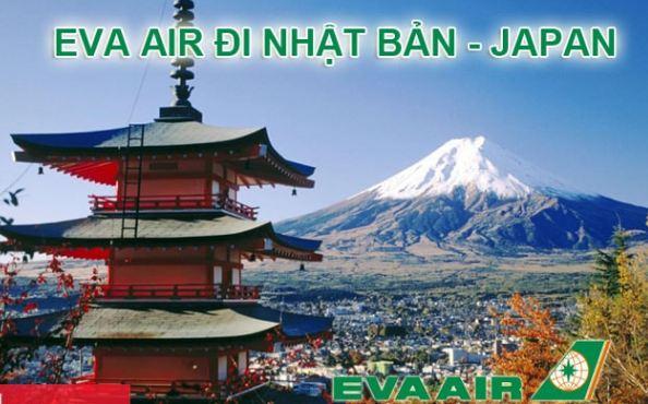 Vé máy bay đi Nhật Bản Eva Air
