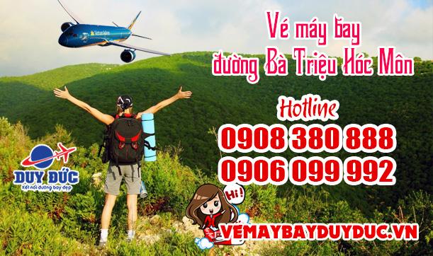 Vé máy bay đường Bà Triệu Hóc Môn TP Hồ Chí Minh