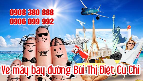 Vé máy bay đường Bùi Thị Điệt Củ Chi TP Hồ Chí Minh