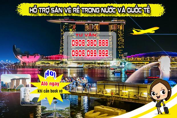 Vé máy bay đường Hoàng Sa bờ kè quận 3 TP Hồ Chí Minh