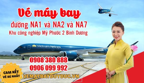 Vé máy bay đường NA1 và NA2 và NA7 Khu công nghiệp Mỹ Phước 2 Bình Dương - Duy Đức