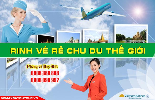 Vé máy bay đường Nguyễn Hữu Trí Bình Chánh TP Hồ Chí Minh