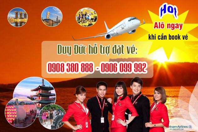 Vé máy bay đường Võ Chí Công quận 2 TP Hồ Chí Minh