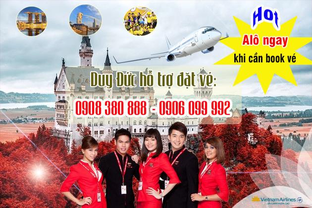 Vé máy bay Khu công nghiệp Lê Minh Xuân Bình Chánh TP Hồ Chí Minh