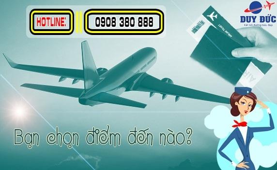 Vé máy bay giá rẻ đường Trương Văn Bang quận 2
