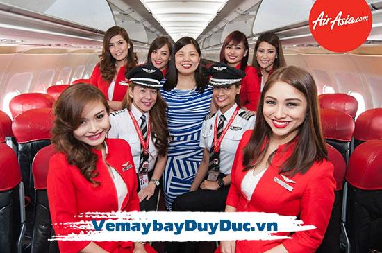 Vé máy bay hãng Air Asia