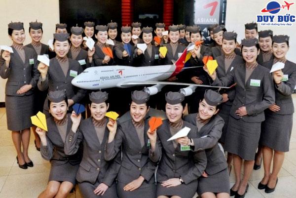Vé máy bay hãng Asiana Airlines