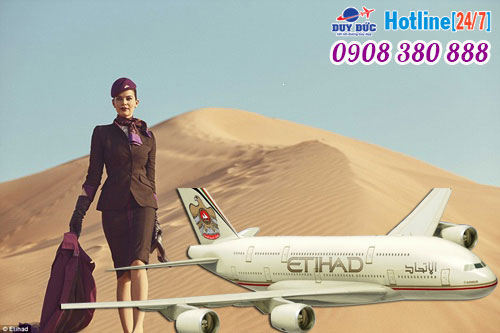 Vé máy bay hãng Etihad Airways