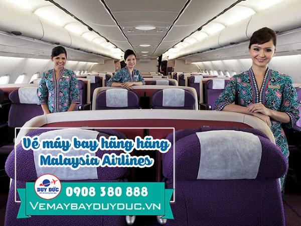 Vé máy bay hãng Malaysia Airlines