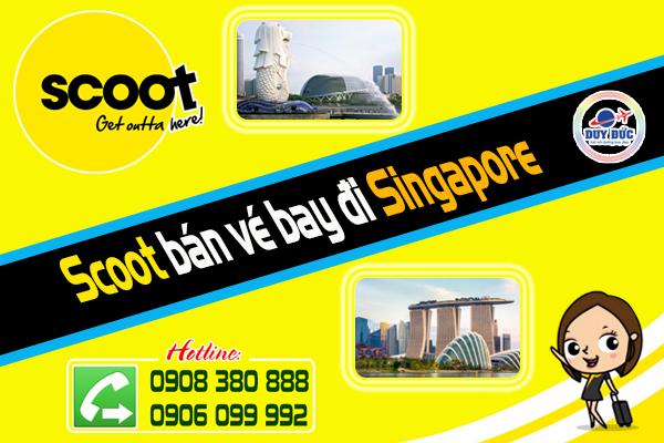 Rinh vé đi Singapore 39 usd cùng đại lý Tiger Air