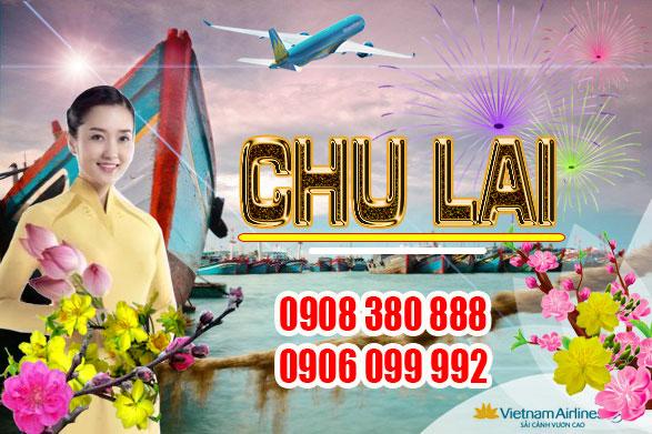 Vé máy bay tết 2019 đi Chu Lai