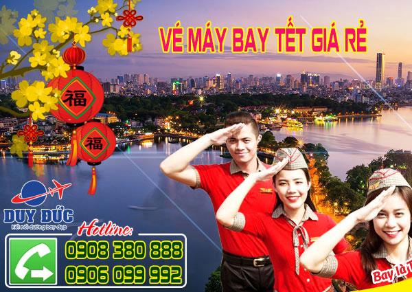 Tiết lộ giá vé máy bay đi Hà Nội ngày mùng 1 tết 2017