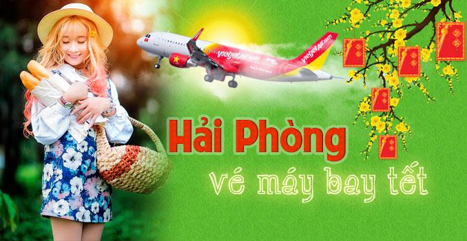 Vé máy bay Tết đi Hải Phòng tại TPHCM