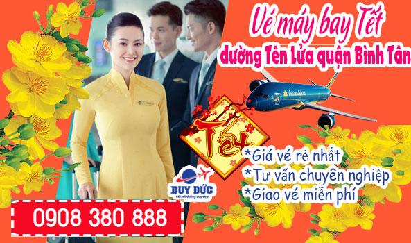 Vé máy bay tết đường Tên Lửa quận Bình Tân TPHCM