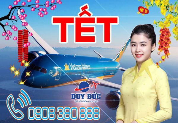 Vé máy bay Tết đi Tam Kỳ hãng Vietnam Airlines