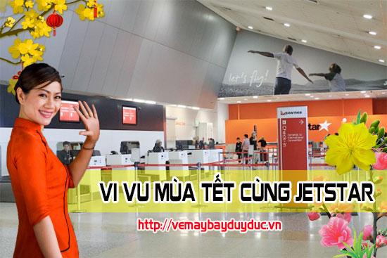 Tổng đài vé máy bay tết Jetstar trên đường Hồng Hà