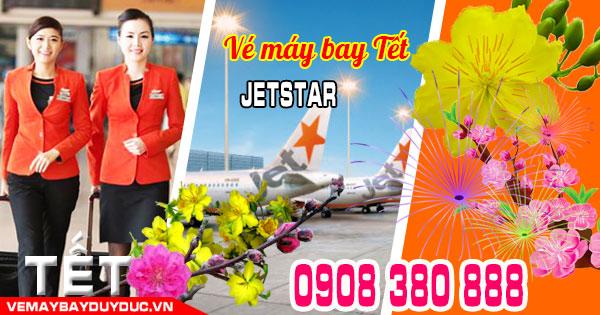 Giao vé máy bay tết Jetstar miễn phí tại chợ Hiệp Thành