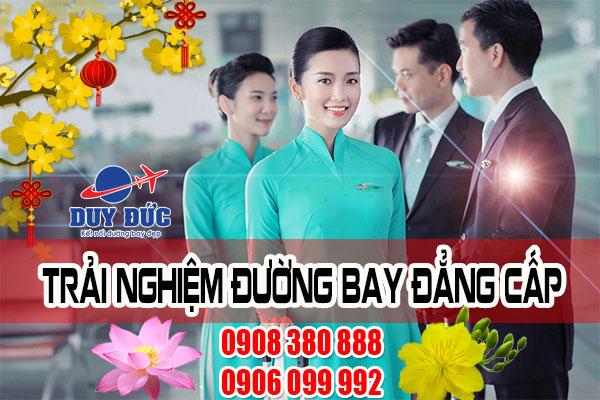Mua vé tết Vietnam Airlines tại quận Tân Phú