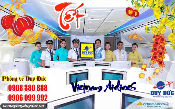 Vé máy bay Tết Vietnam Airlines quận 5 - Đại lý Duy Đức