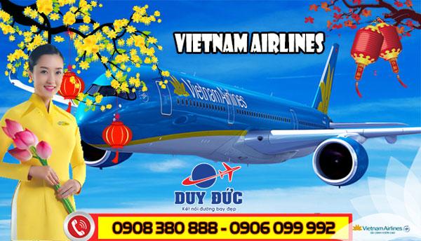 Vé máy bay Tết Vietnam Airlines quận 7 - Đại lý Duy Đức