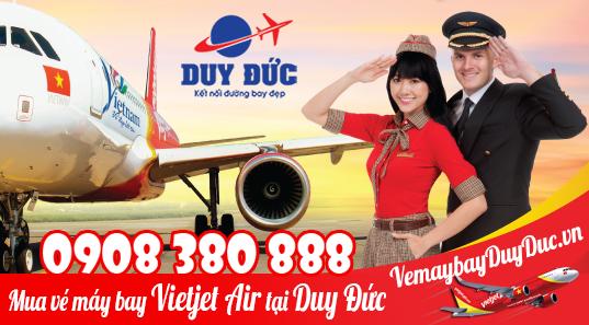 Vé máy bay Vietjet Air đường Trịnh Hoài Đức quận 5