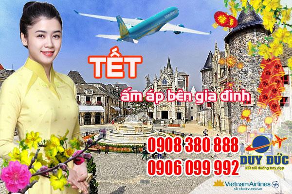 Vé máy bay ngày 27 Tết đi Đà Nẵng hãng Vietnam Airlines