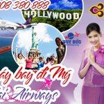 Vé máy bay đi Mỹ Thai Airways