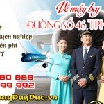 Vé máy bay đường số 46 TPHCM – Đại lý Duy Đức