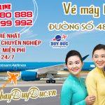 Vé máy bay đường số 48 TPHCM – Đại lý Duy Đức