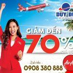 AirAsia giảm 70% giá vé bay thẳng Malaysia, Thái Lan, Philippines