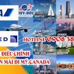 ANA & United Gia hạn vé khuyến mãi đi Mỹ,Canada