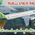 Bamboo Airwayscập nhật các chuyến bay từ Hải Phòng