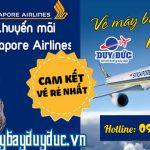 Singapore Airlines khuyến mãi vé mùa hè 110 usd